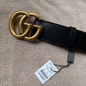 bNew Gucci Belt Åüthéntïć Double G Marmot